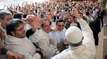 El Papa Francisco se reunió con consagrados en Congreso Internacional