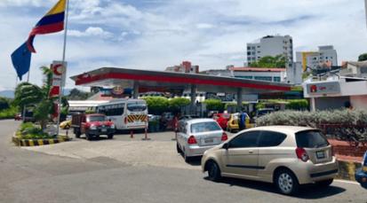 Demanda irregular de gasolina en Cúcuta