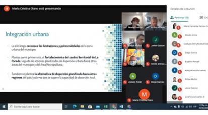 Se realizó la socialización virtual del Plan Municipal de Respuesta al Fenómeno Migratorio en el Municipio de Villa del Rosario